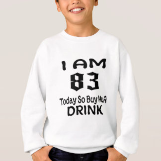 Sweatshirt 83 achetez-aujourd'hui ainsi moi une boisson