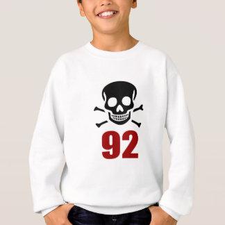 Sweatshirt 92 conceptions d'anniversaire