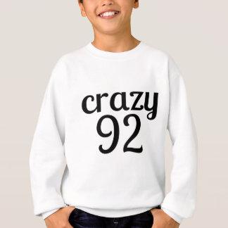 Sweatshirt 92 conceptions folles d'anniversaire