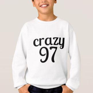 Sweatshirt 97 conceptions folles d'anniversaire