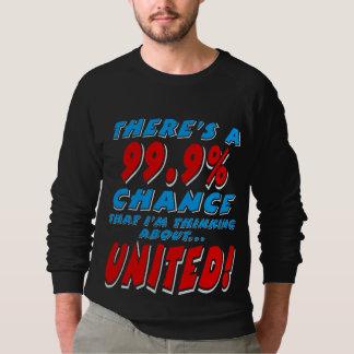 Sweatshirt 99,9% UNI (blanc)