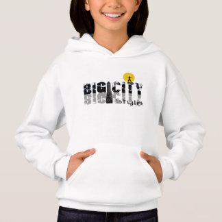Sweatshirt à capuche pour fille d'Hanes