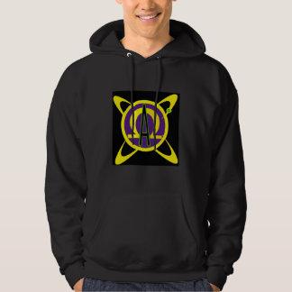 Sweatshirt à capuchon d'Alphamegus