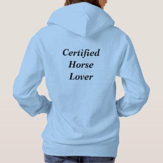 Sweatshirt à capuchon d'amant de cheval