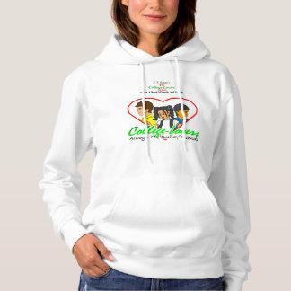Sweatshirt à capuchon d'amants d'université