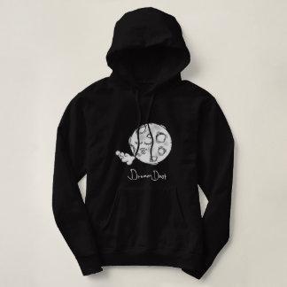 Sweatshirt à capuchon de base de lune rêveuse de