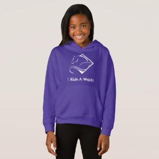 Sweatshirt à capuchon de filles de Gallois