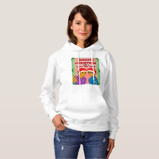 Sweatshirt à capuchon de Noël jeune de conquérants