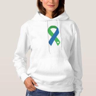 Sweatshirt à capuchon de ruban d'IIH