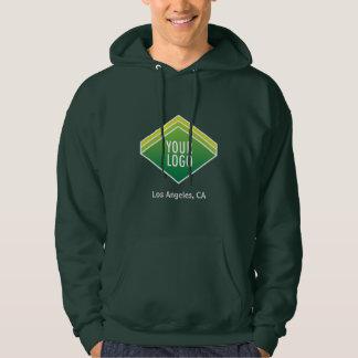 Sweatshirt à capuchon d'hommes avec le logo fait