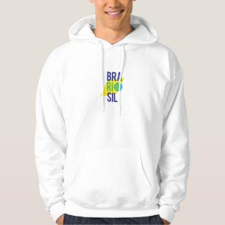 Sweatshirt à capuchon d'hommes du Brésil Rio