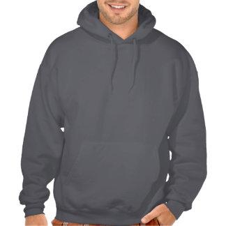 Sweatshirt à capuchon foncé avant de Kobudo