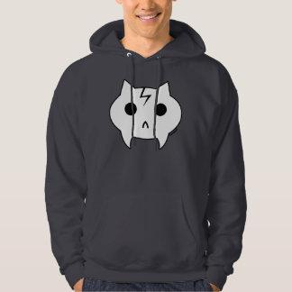 Sweatshirt à capuchon gris-foncé de Dr.