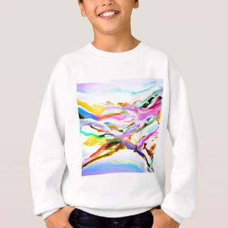 Sweatshirt Abrégé sur côtier couleur