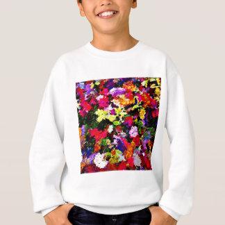 Sweatshirt Abrégé sur tombé feuille d'automne