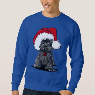 Sweatshirt Affenpinscher de Père Noël