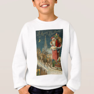 Sweatshirt Affiche 1906 clous de Père Noël de cru original
