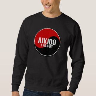 Sweatshirt Aikido 1 de Yin Yang