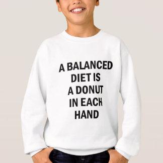 Sweatshirt Alimentation équilibrée
