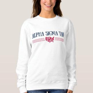 Sweatshirt Alpha Tau Etats-Unis de sigma
