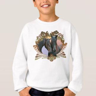 Sweatshirt Amants de cheval