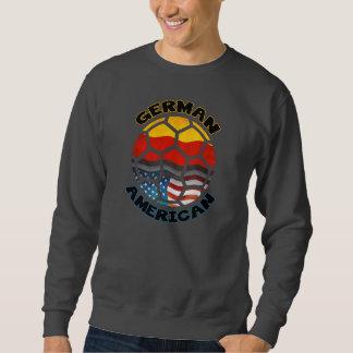 Sweatshirt américain allemand de fan de foot