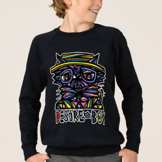 Sweatshirt américain de l'habillement du garçon