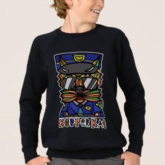 Sweatshirt américain de l'habillement du garçon de
