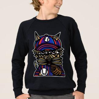 Sweatshirt américain de l'habillement du garçon du
