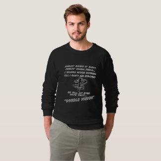 Sweatshirt américain de raglan d'habillement