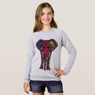 Sweatshirt American Apparel Raglan pour filles