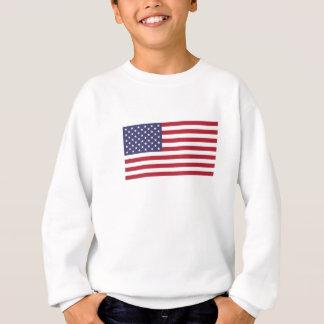 Sweatshirt American Flag