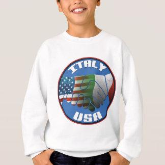 Sweatshirt Amitié de l'Italie Etats-Unis