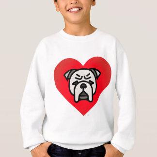 Sweatshirt amour de bouledogue