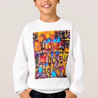Sweatshirt Amour de graffiti