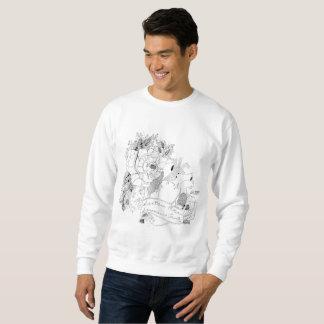 Sweatshirt Amour de Sonoma (B&W)