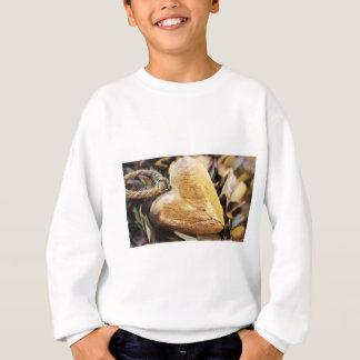 Sweatshirt Amour en bois en bois de fleur d'hortensia de
