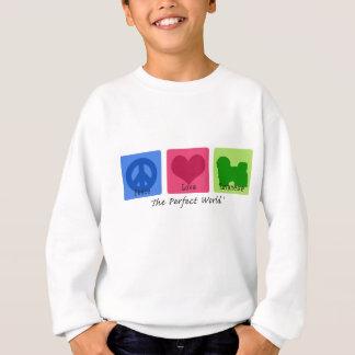 Sweatshirt Amour Havanese de paix