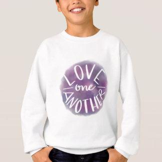 Sweatshirt Amour Main-En lettres un un autre de Bokeh