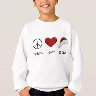 Sweatshirt Amour Père Noël de paix