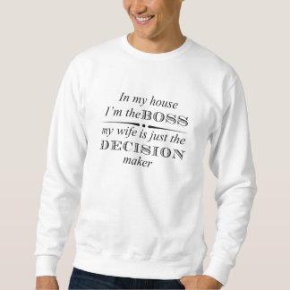 Sweatshirt Amusement--Dans ma Chambre je suis le patron