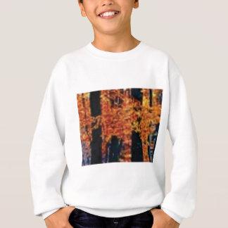 Sweatshirt amusement de forêt de chute