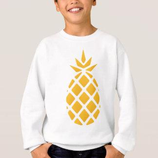 Sweatshirt ananas, fruit, logo, nourriture, tropicale,