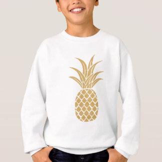 Sweatshirt Ananas majestueux d'or