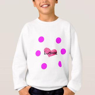 Sweatshirt Anglais de conception d'amour