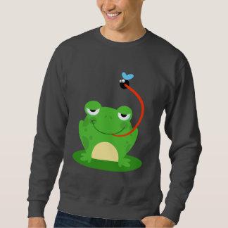 Sweatshirt Animal drôle amphibie de bande dessinée d'insecte
