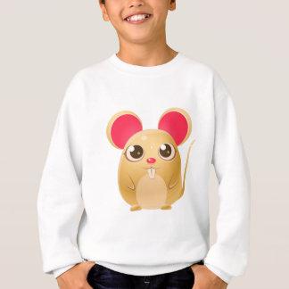 Sweatshirt animal du bébé 00078Mouse dans le style doux Girly