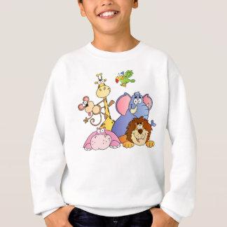 Sweatshirt Animaux d'une jungle