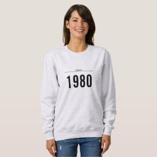 Sweatshirt année de chemise de naissance