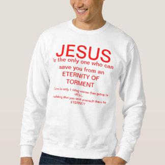 Sweatshirt Annoncez Jésus dans votre vie